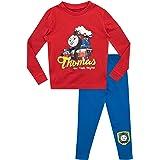 Thomas & Friends Pijamas de Manga Larga para niños Thomas y Sus Amigos