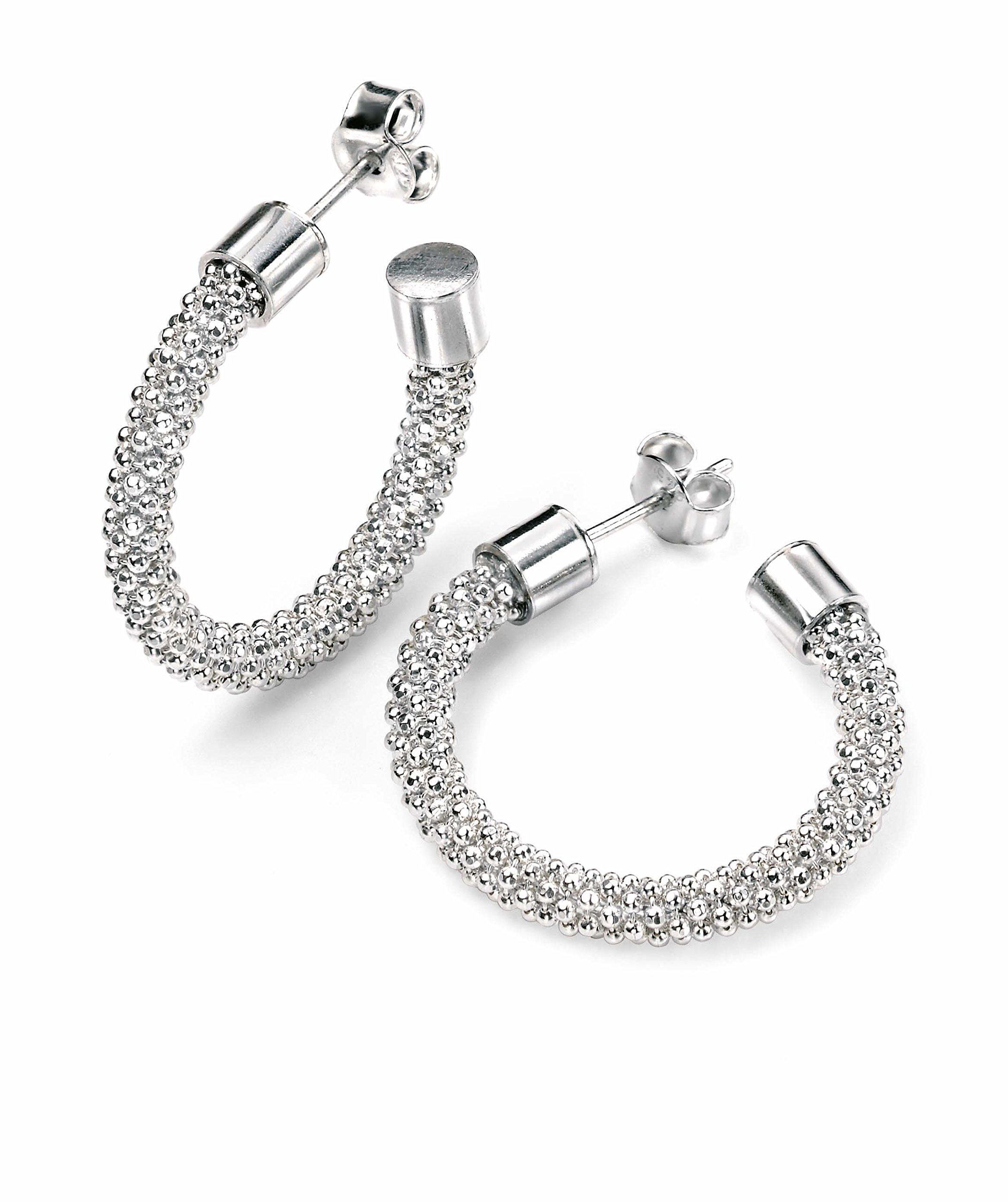 Elements Silver E4493 - Orecchini pendenti da donna, argento sterling 925