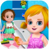 Nettoyage de la maison nettoyer la maison 2 : jeux et activités de nettoyage dans ce jeu pour les enfants et les jeunes filles - gratuit