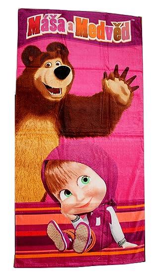 mascha und der bär handtuch