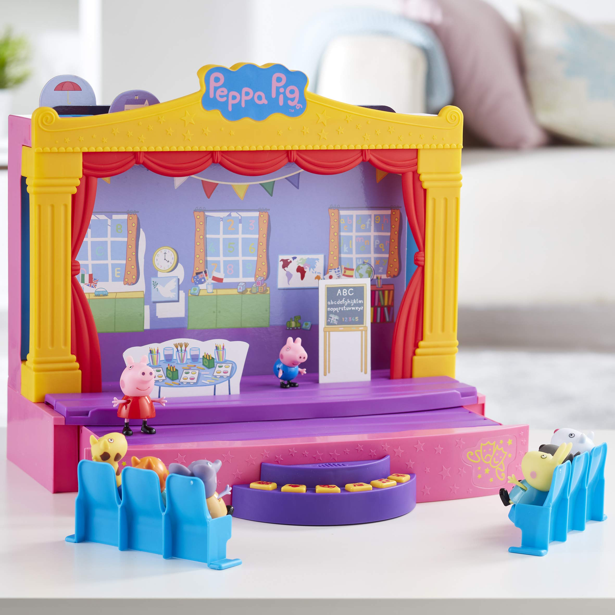 Peppa-Pig-6964-PEPPAS-STAGE-PLAYSET-Multi-Colour