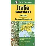 Cartina Geografica Centro Nord Italia.Amazon It Italia Centro Nord 1 500 000 Carta Stradale E Turistica Aa Vv Libri