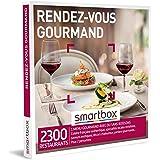 SMARTBOX - Coffret Cadeau Couple - Idée cadeau original : Expérience gourmande à deux dans 2 300 restaurants