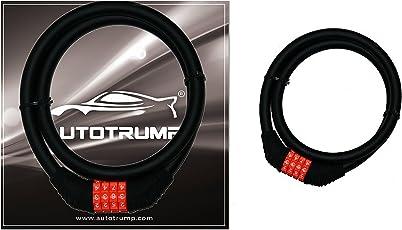 AUTOTRUMP Export Quality Multipurpose Number Changing Lock (Black orange)