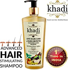 Khadi Global Anti Hair Loss and Hair Growth Stimulating Shampoo (250ml)