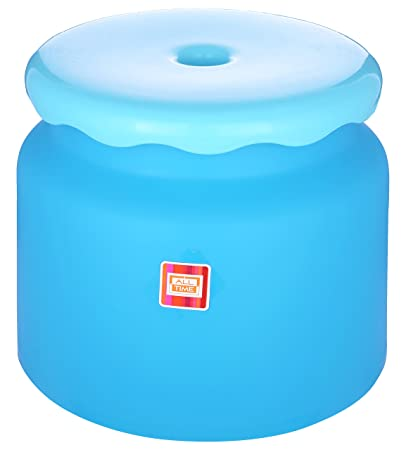All Time Frosty Plastic Bathroom Stool Blue  sc 1 st  Amazon.in & All Time Frosty Plastic Bathroom Stool Blue: Amazon.in: Home ... islam-shia.org