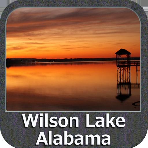 Wilson Lake- Alabama GPS Map Navigator Lowrance-gps-software