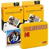 Kodak Mini 3 Stampante Bluetooth portatile per cellulare, 6 cartucce incluse, foto istantanee formato quadrato 76x76 mm, Comp