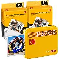 Kodak Mini 3, Imprimante Photo Portable Instantanée, Sans Fil, iOS et Android, Bluetooth, 76 x 76 mm, Technologie 4 Pass…