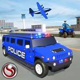 US-Polizei Hummer Auto Transportflugzeug Spiel