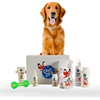Captain Zack - The Golden Retriever Box – Ultimate 8-in-1, Head-to-Paw Groom-Kit for Your Dog - (Shampoo +Conditioner…