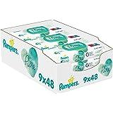 Pampers Aqua Pure Våtservetter, 9 x 48