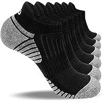 coskefy Trainer Socks Cushioned Running Socks Ankle Socks for Men Women Ladies Cotton Sports Socks Low Cut Athletic…