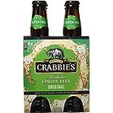 Crabbie's Original Alcoholic Ginger Beer 4 x 330ml