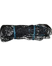 Netco Powers Nylon Volleyball Net (Black, Large)