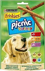 Friskies - Alimento para Perros Snacks Variety 126 g