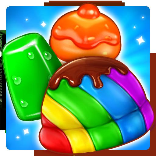 Ice Cream Paradise: Eiscreme-Paradies - Kostenloses Match 3-Puzzle-Spiel
