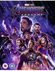 Avengers: Endgame Blu-ray Includes Bonus Disk ( UK IMPORT REGION FREE )