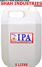 CLEANMAX IPA 99% ISOPROPYL Alcohol (E-Grade) 5L to Clean Mobiles/Laptops/LCD Monitors & Electronic Boards - Electronic Services. (1)