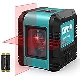 Kiprim Kruislijnlaser Laser Waterpas Rood Zelfbalancerende Laserniveau Horizontaal Verticaal Rode lijnlaser IP54 Waterbescher