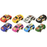 THE TWIDDLERS 32 Mini Pull Back Race Cars | Party Bag Filler