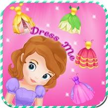 The first princess dress me up