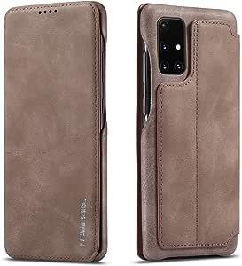 Qltypri Case For Samsung Galaxy A71 Premium Pu Leather Elektronik