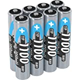 Ansmann Batteri AAA typ 1100 mAh, Paket med 8