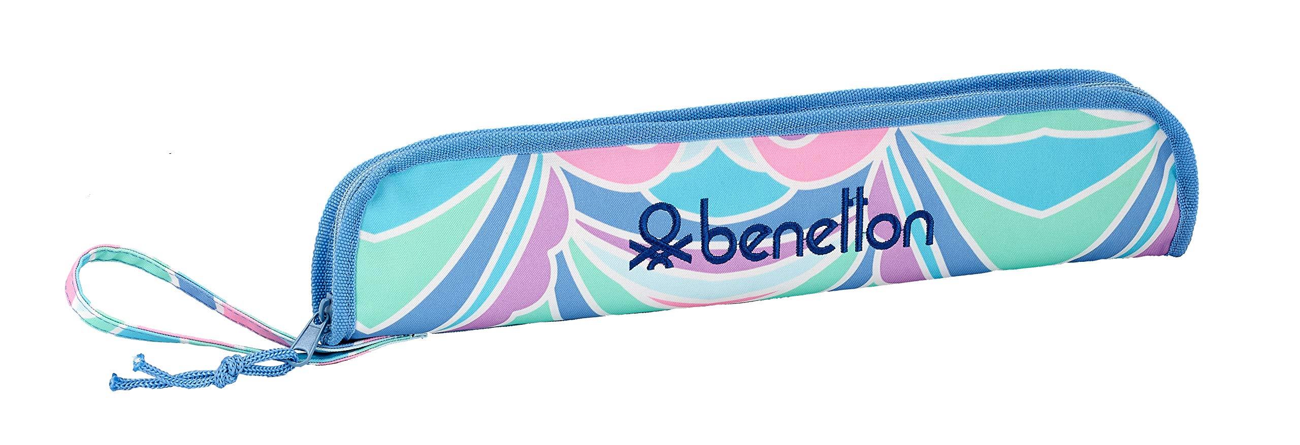 Benetton «Arcobaleno» Oficial Portaflautas 370x20x80mm