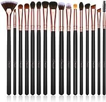 BESTOPE Eye Makeup Brush Set, 16 Pieces Professional Makeup Brushes, Eye Shadow, Concealer, Eyebrow, Foundation, Powder Liquid Cream Blending Brush Set with Premium Wooden Handles