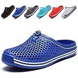 Garden Clogs Lightweight Quick-Dry Mesh Slipper Walking Sandals Beach Pool Non-Slip Shoes Women Men for Indoor Outdoor