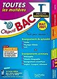 Objectif Bac - Term Enseignements communs + Spécialités Maths-Physique-Chimie-SVT BAC 2021