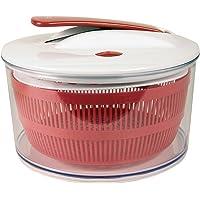 Easy Make KM4071 ESSOREUSE A Salade A Piston - Couleur ALEATOIRE, Plastique, Noir/Rouge/Vert, 24,5X24,5X16,5