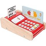 Le Toy Van Kreditkortläsare träleksaker, med läsare, röd