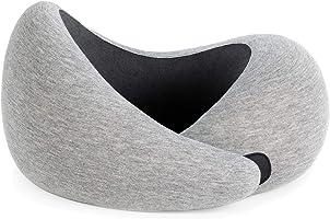 OSTRICHPILLOW GO Reisekissen mit Memory Foam für Flugzeuge, Auto, Nackenstütze für das Fliegen, Power Nap Kissen,...