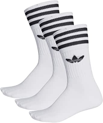 adidas, Solid Crew Socks, Pack of 3