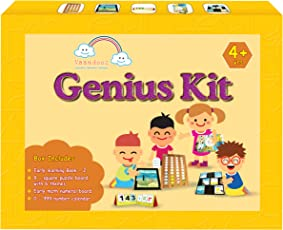 VAANDOOZ A complete Math, English, GK Kit for 4 year olds