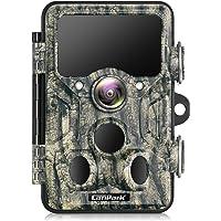 Campark WiFi Bluetooth Trail Camera 20MP 1296P Game Chasse Camera avec 940nm IR LED Vision Nocturne Activé par Le…
