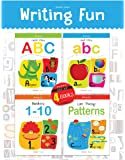 Writing Practice Boxset: Pack of 4 Books (Writing Fun: Write and Practice Capital Letters, Small Letters, Patterns and…