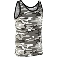 Camouflage Military Vest Top - Urban Camouflage
