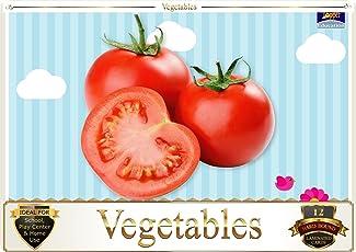 Topper : Kiddies Flash Cards - Vegetables
