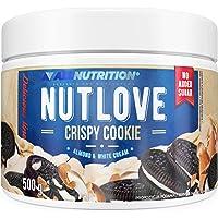 ALLNUTRITION NUTLOVE CRISPY COOKIE 500g ist eine köstliche Creme mit knusprigen Kakaokeksen und Mandeln, Ungesüßt, Kein…