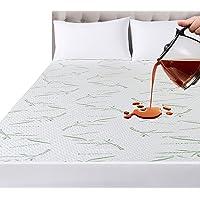 Utopia Bedding Imperméable Bambou Protège Matelas 90 x 190 x 30 cm, Premium Couvre Matelas, Respirant, Style Ajusté Tout…