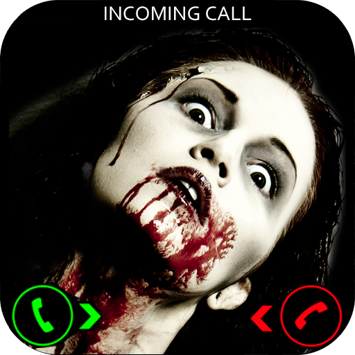 Scary Ghost Girl Prank Call (Face Scary Halloween App)