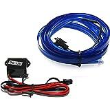 Led Mafia 7 99 M 100cm El Lichtleiste Ambientebeleuchtung Neon Blau Weiß Weiß Auto