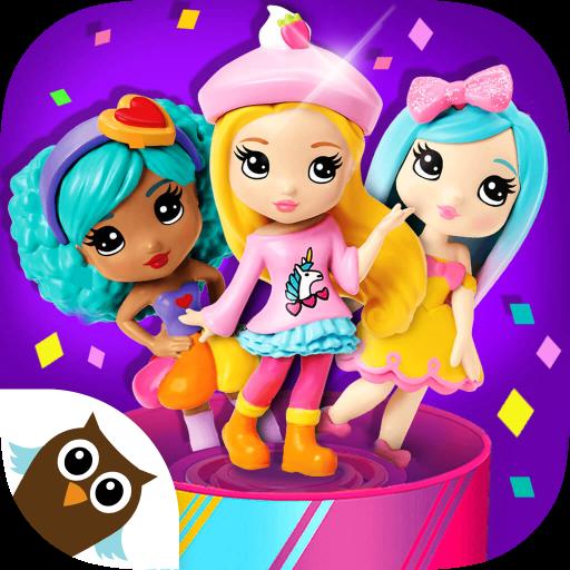 Party Popteenies Surprise - Rainbow Pop Fiesta for BFF Girls -