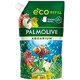 Palmolive Zeep aquarium 1 x 500 ml navulzak, milde zeep voor zachte reiniging van de handen, dermatologisch getest