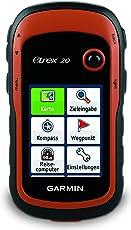 """Garmin eTrex 20 GPS Handgerät mit 2,2"""" Touchdisplay, Batterielaufzeit von bis zu 25 Stunden und großem internen Speicher"""