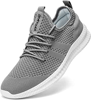 FUJEAK Women Walking Shoes Athletic Casual Road Running Breathable Fashion Sneakers Gym Tennis Lace Up Comfortable Lightweight Shoes