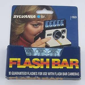 Sylvania Blue Dot Flashbar For Polaroid Sx70 Land Kamera